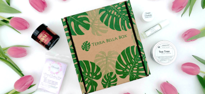 30% Off First Terra Bella Box Coupon!