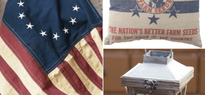 Gable Lane Crates Limited Edition: Patriotic Crates Available Now + Spoilers!
