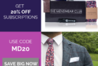 Menswear Club Flash Sale: Save 20%