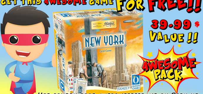 Awesome Pack Free Game Coupon!
