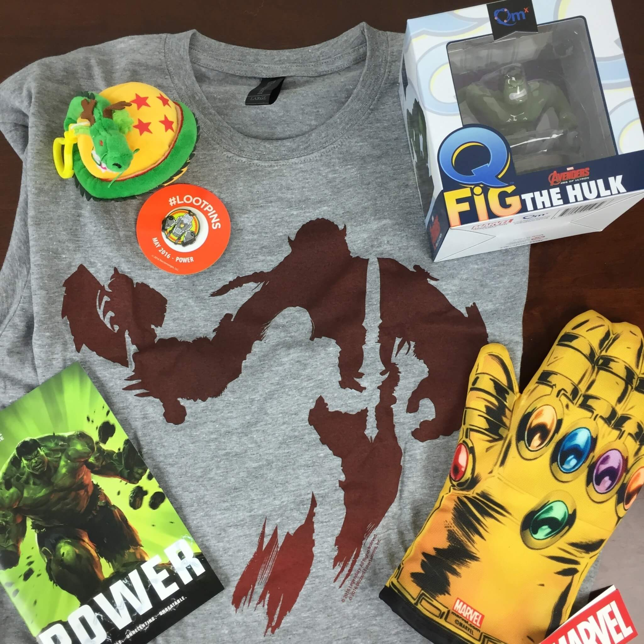 Loot Crate May 2016 Review + Coupons – POWER