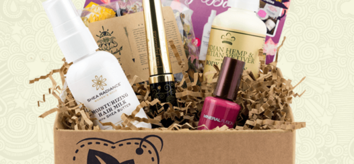 Vegancuts Beauty Box July 2019 Spoilers!