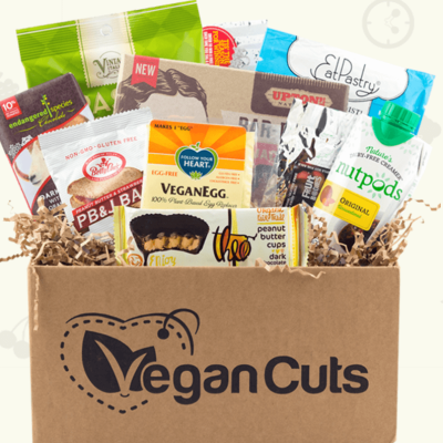Vegan Cuts January 2019 Snack Box Spoilers!