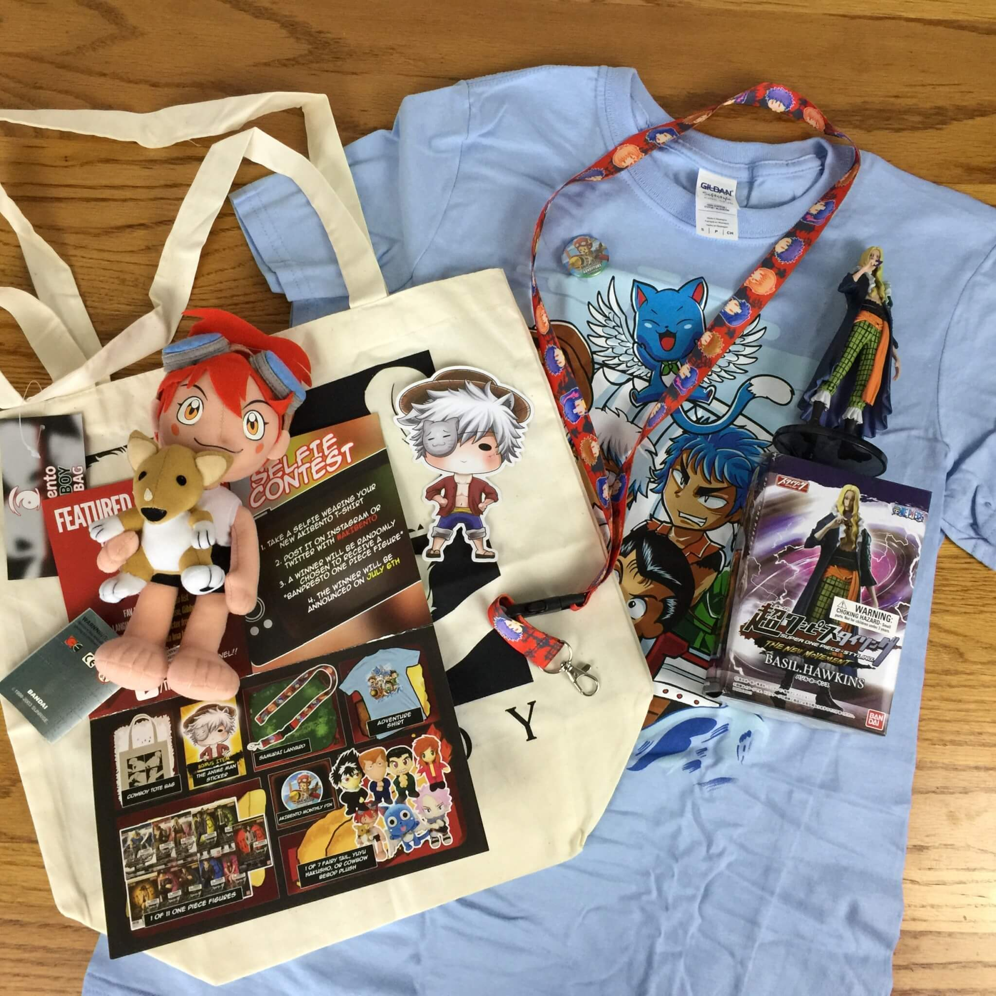 Akibento June 2016 Subscription Box Review & Coupon – Adventure
