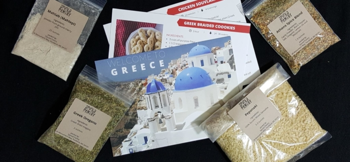 "Spiced Pantry May 2016 Subscription Box Review + Coupon – ""Greece"""