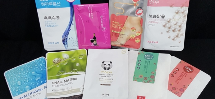 May 2016 Beauteque Mask Maven Subscription Review + Coupon