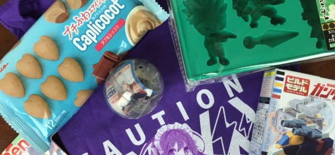Anime Bento Subscription Box Review & Coupon – June 2016