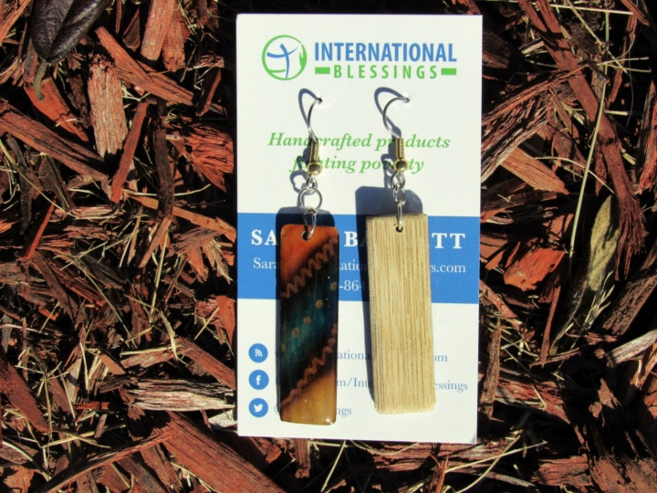 Aboriginal Earrings - Peru