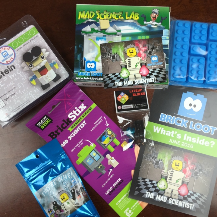 Brickloot Box June 2016 review