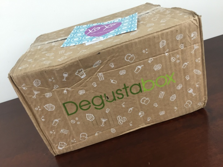 DegustaBox June 2016 Box