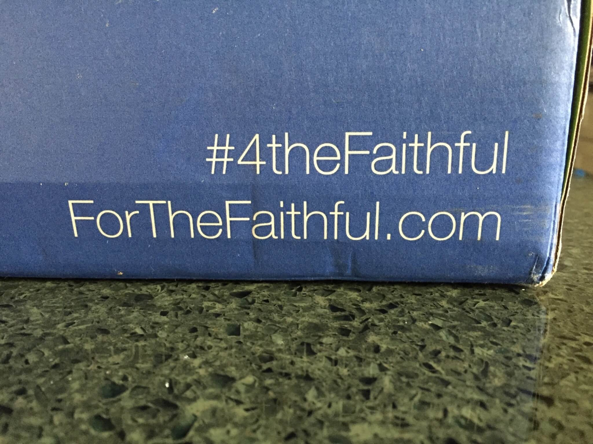 For The Faithful May 2016 (1)
