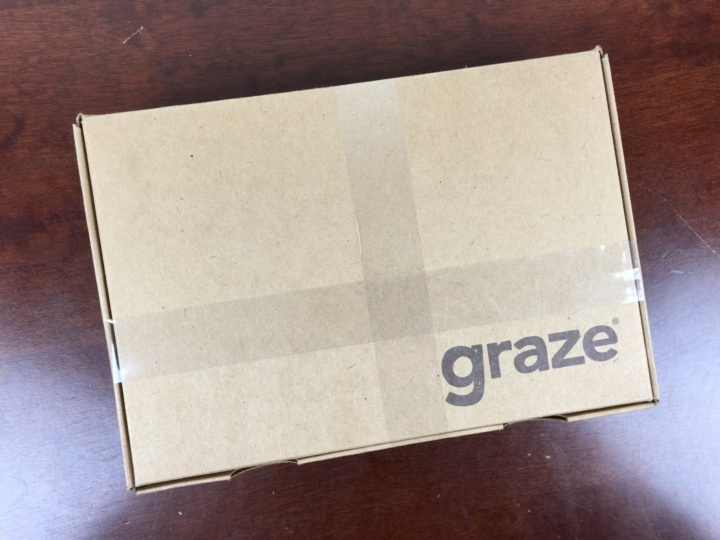 Graze Box July 2016 box