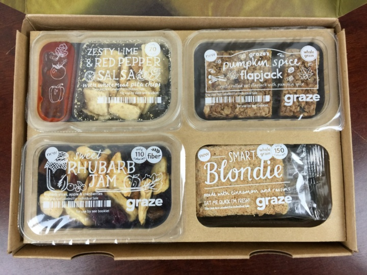 Graze Box July 2016 review