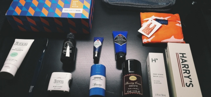 Birchbox Man Limited Edition Man on the Move Box Review + Coupon