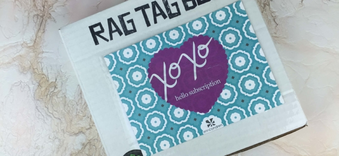 Rag Tag Box June + August 2016 Subscription Box Reviews + Coupon