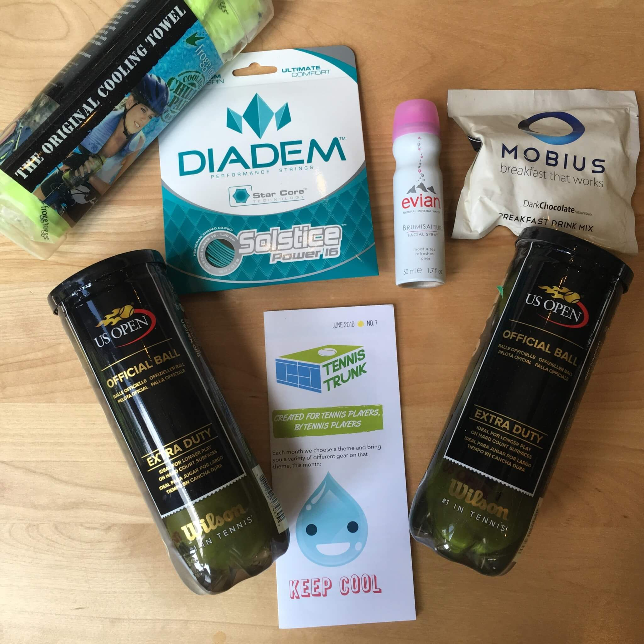 Tennis Trunk June 2016 Subscription Box Review & Coupon