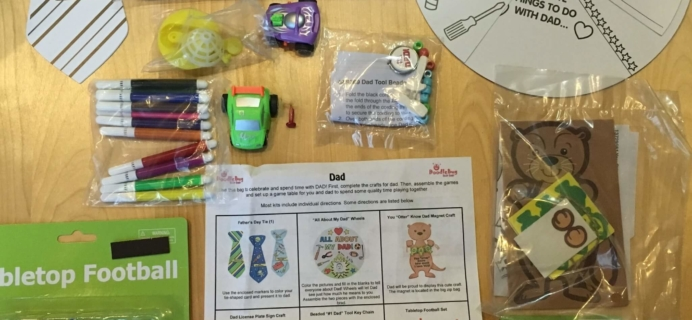 Doodlebug Busy Bags June 2016 Subscription Box Review