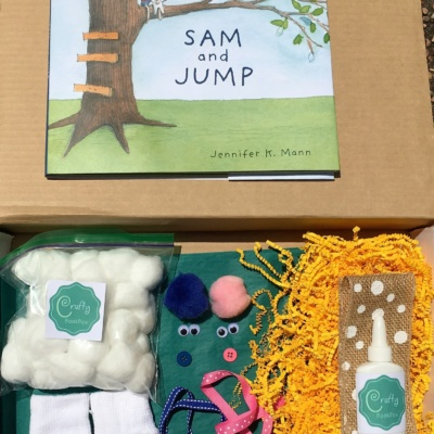 Crafty Book Box June 2016 Review