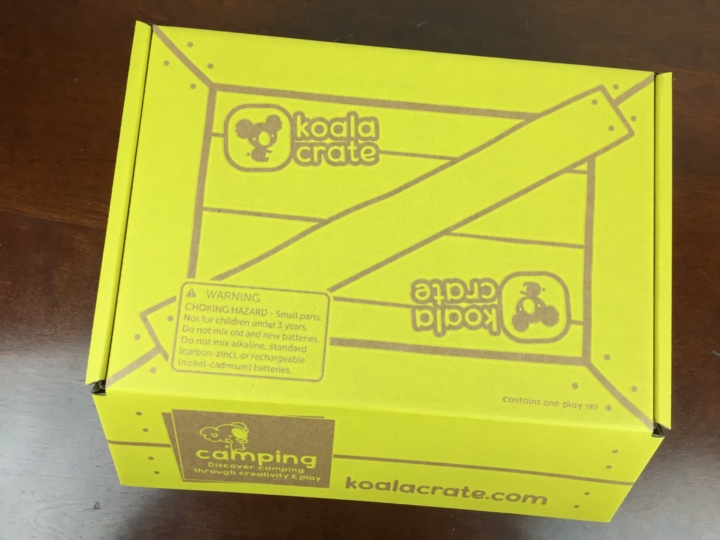 Koala Crate June 2016 box