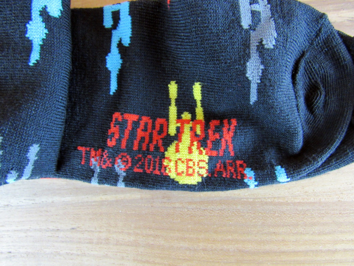 Star Trek on sole