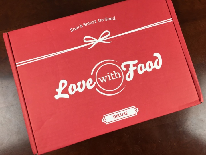 Love With Food Deluxe Box June 2016 box