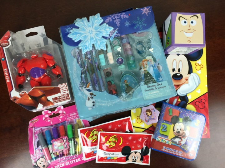 Mickey Monthly Box June 2016 review