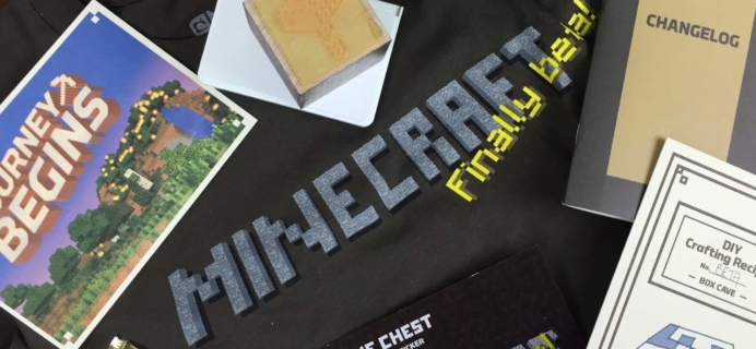 May 2016 Mine Chest Subscription Box Review – Beta Chest