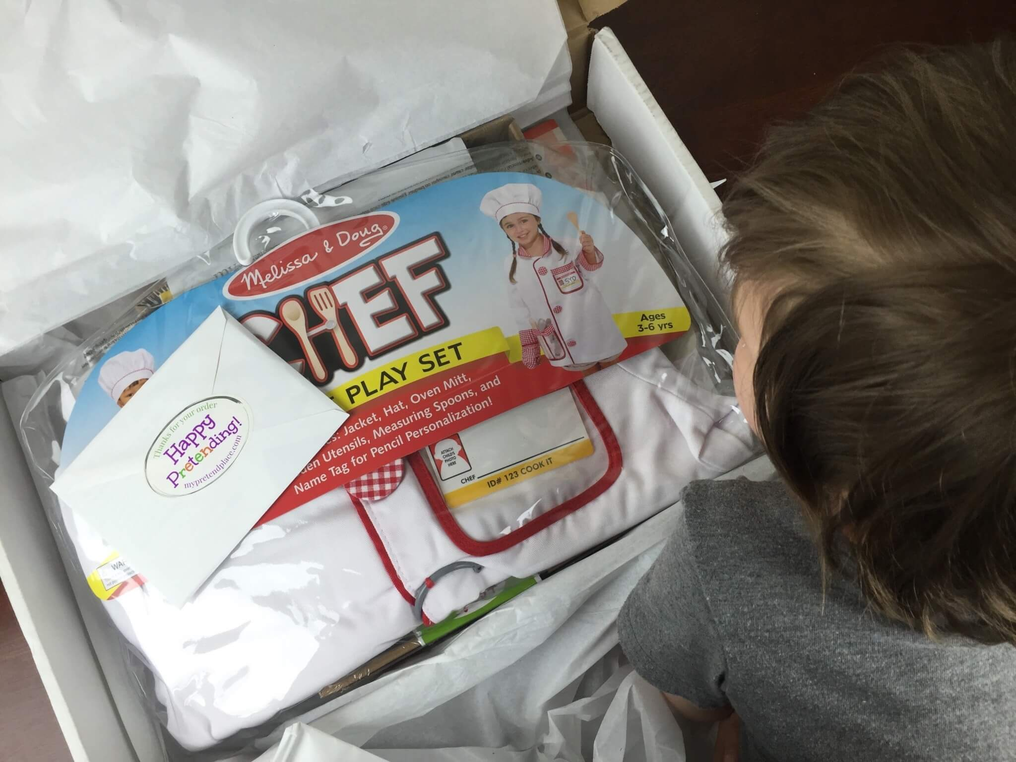 My Pretend Place Head Chef Box June 2016 unboxed