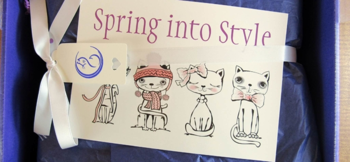 My Purrfect Gift Box Subscription Review – May 2016