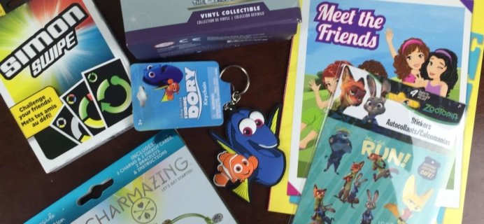 Nerd Block Jr. Girls Subscription Box Review & Coupon – June 2016