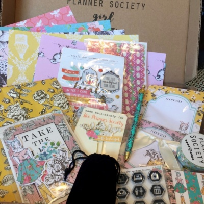 Scarlet Lime Planner Society Kit Club May 2016 Subscription Box Review