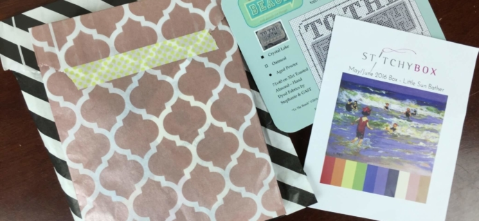 Stitchy Box May-June 2016 Subscription Box Review & Coupon