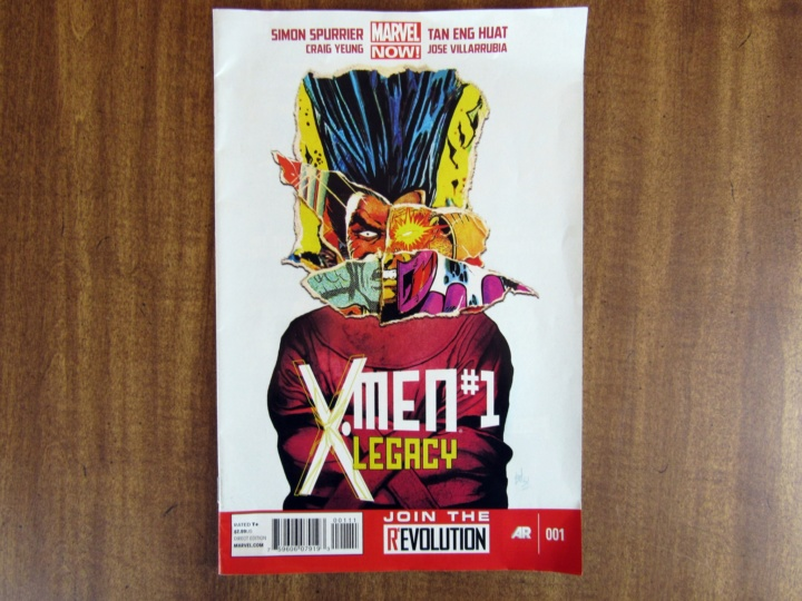 X Men #1 Legacy Comic Book