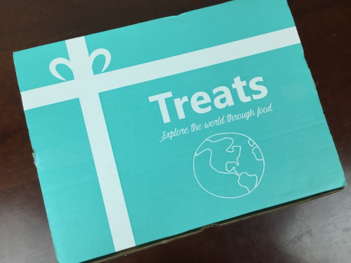 Treats Box June 2016 box