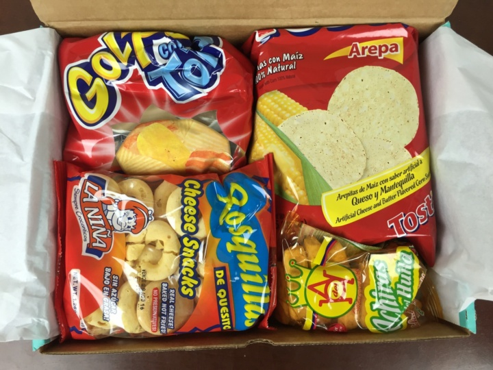 Treats Box June 2016 unboxed