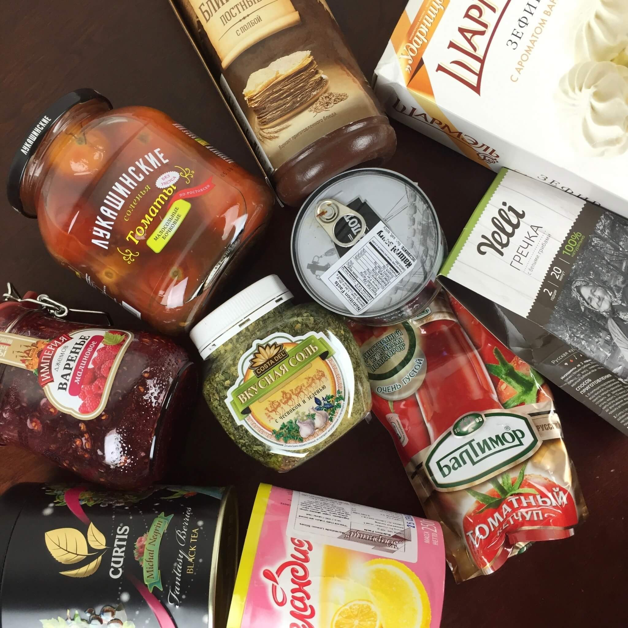 May 2016 Yummy Bazaar Full Experience Subscription Box Review –  Russia Box