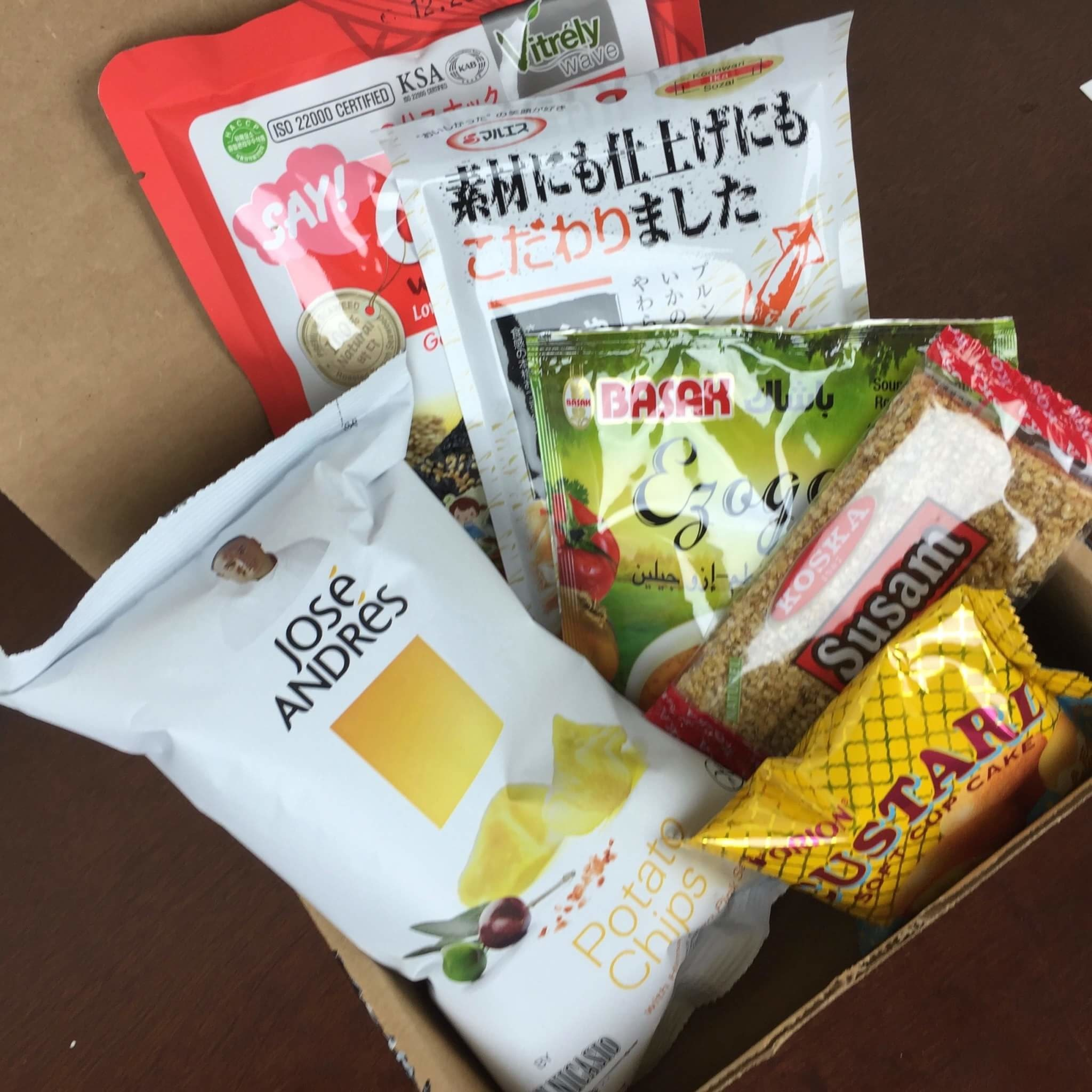 Yummy Bazaar June 2016 Subscription Box Review – Mini Box