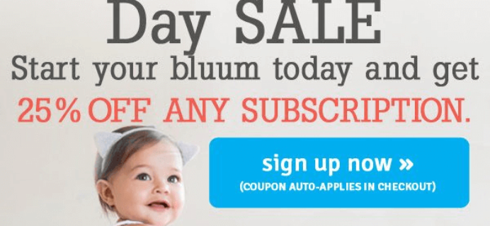 Bluum Independence Day Coupon – 25% off All Subscriptions!