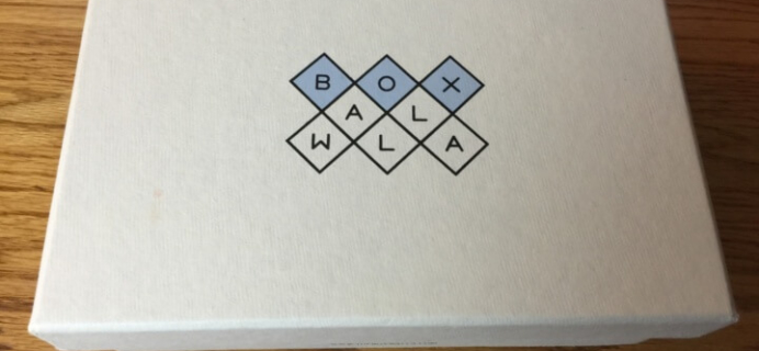 Boxwalla Book August 2016 Subscription Box Review