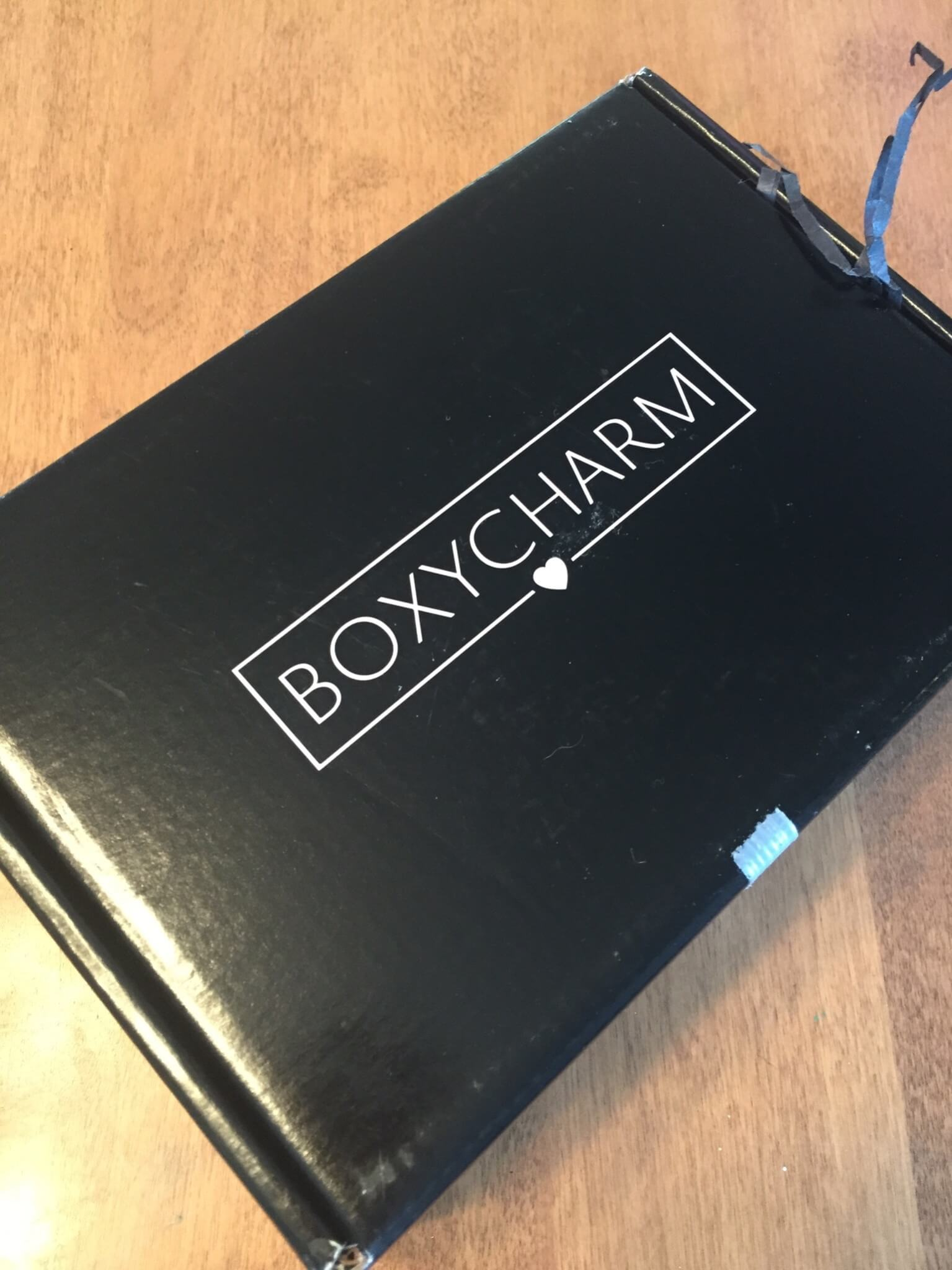boxycharm june 2016 box