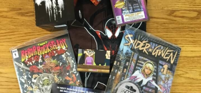 Comic Block Subscription Box Review & Coupon – July 2016
