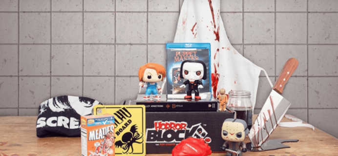 Horror Block September 2016 Spoilers & Coupon!