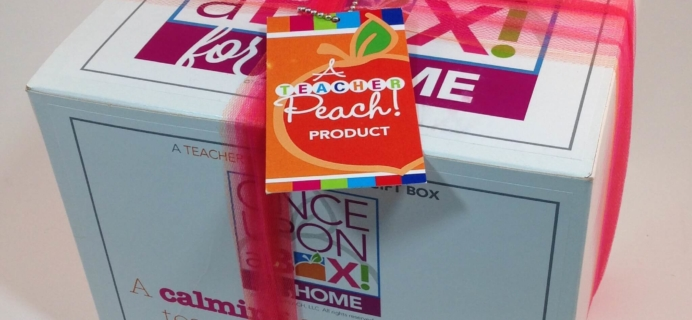 Teacher Peach Once Upon a Box for HOME Review
