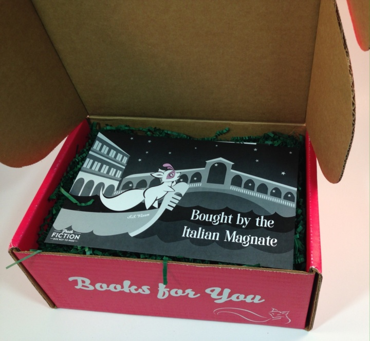 Fresh fiction box july 2016 subscription box review coupon hello codes for 2 3 downloadable ebooks a collectible item and a sweet treat most of the books will be from the romance genre but they may occasionally fandeluxe Gallery