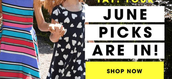 FabKids June 2016 Collection + BOGO Shoes, Free Shipping + $10 Credit For New Members!