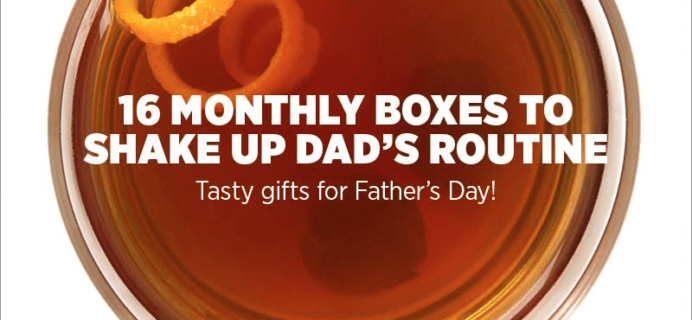 Mouth.com Father's Day Sale – 20% Off 16 Monthly Boxes For Dad!