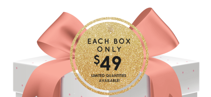 Peaches and Petals Limited Edition Secret Surprise Box + Coupon