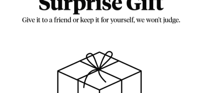 FREE Bespoke Post Mystery Box With Purchase