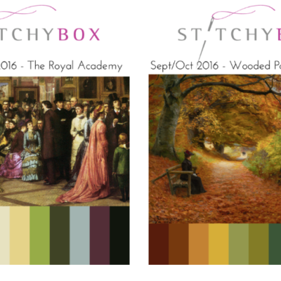 StitchyBox July-September Spoilers & Just The Threads July Spoilers + Coupon Code!