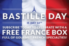 Celebrate Bastille Day with a FREE FRANCE BOX!